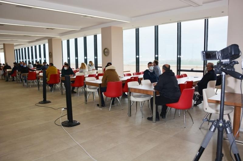 Sorumlu Emlak Danışmanı Mesleki Yeterlilik Sınavları ÇTSO'DA Başladı