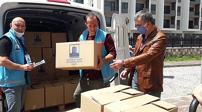 Toplanan Yardım Kolileri İhtiyaç Sahiplerine Ulaştı