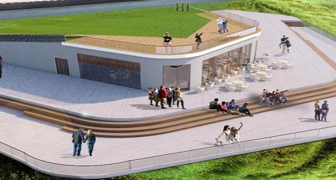 Troya Tarihi Milli Parkı Yeniköy Plajı Günü Birlik ve Çadırlı Kamp Alanı Tamamlanıyor