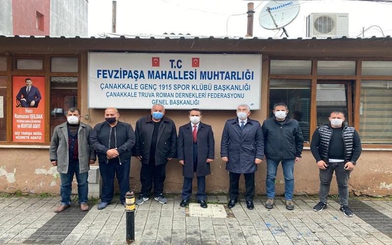 Vali AKTAŞ, 8 Nisan Romanlar Gününde Roman Federasyon Başkanlarıyla Bir Araya Geldi