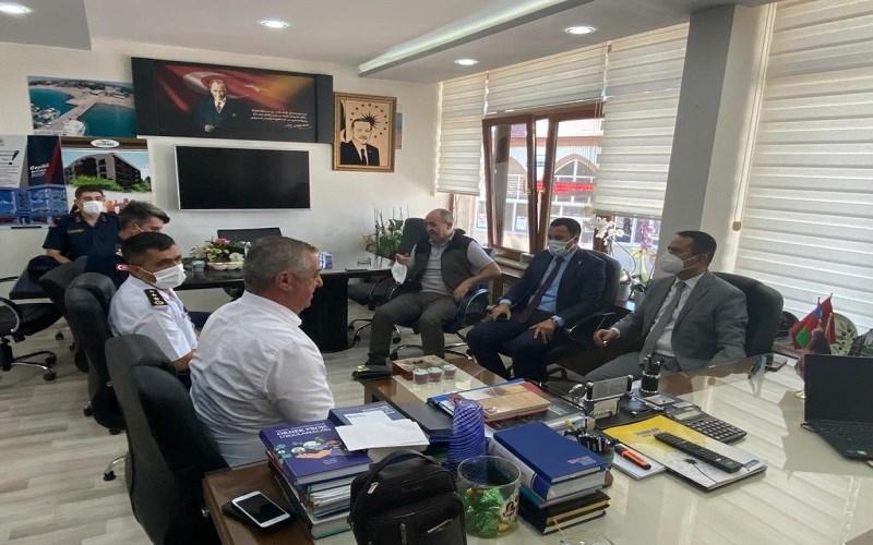 Vali AKTAŞ, Geyikli Belediyesini Ziyaret Etti