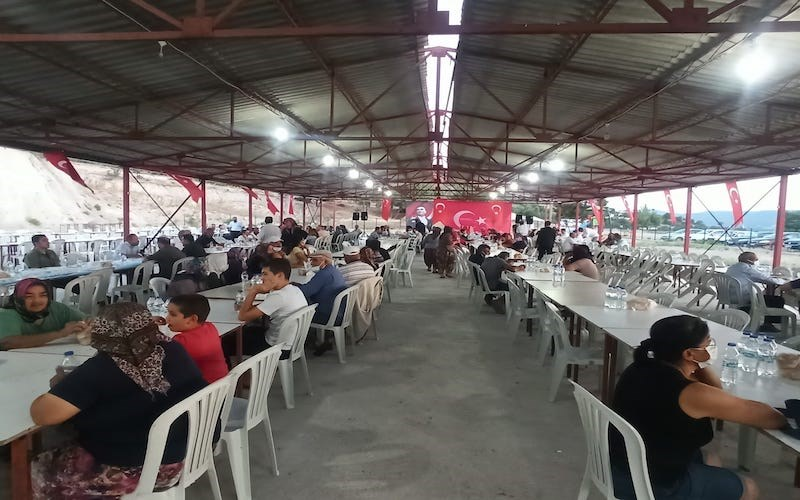 Vali  AKTAŞ, Muharrem Ayı Münasebetiyle Düzenlenen İftar Yemeğine Katıldı