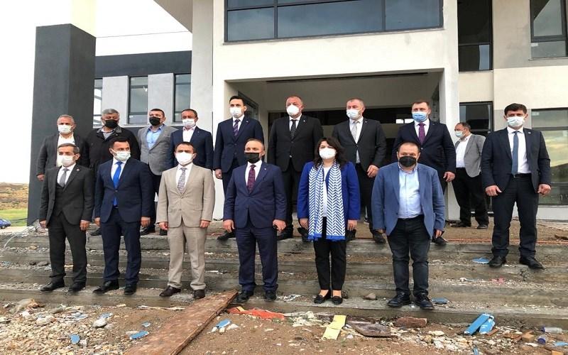 Vali AKTAŞ'tan Çanakkale Ezine Gıda İhtisas Organize Sanayi Bölgesine Ziyaret
