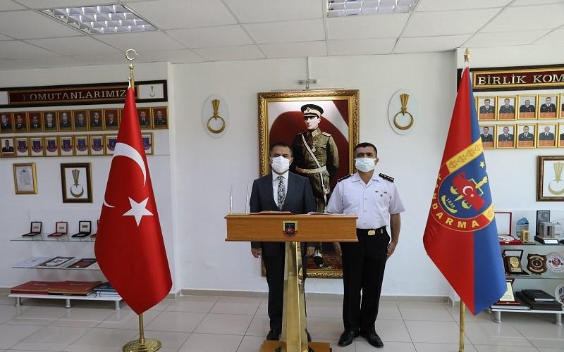 Vali İlhami AKTAŞ'tan, Jandarma'ya 182.Yıl Ziyareti