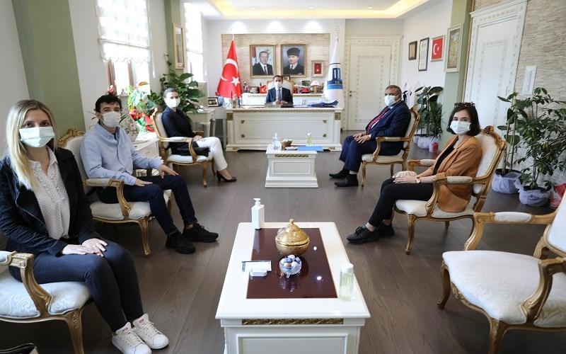 Yeşilay Danışma Merkezinden (YEDAM) Vali İlhami AKTAŞ'a Ziyaret