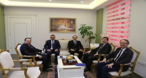 Japonya İstanbul Başkonsolosu Hisao Nishimaki Valiliği Ziyaret Etti