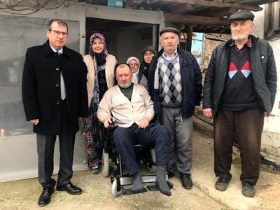 10 Yıldır Evinden Çıkamayan MS Hastası Özgürlüğüne Kavuştu