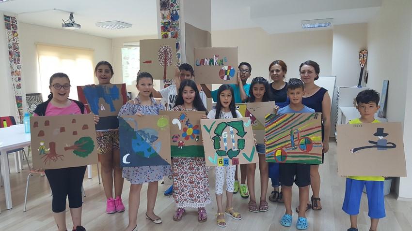 Çocuk Kültür Evi Yaz Atölyelerinde İkinci Dönem Başladı