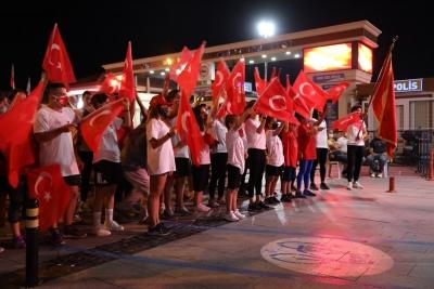15 Temmuz Milli Birlik Ruhu, Şehitler Diyarı Çanakkale'de Dimdik Ayakta