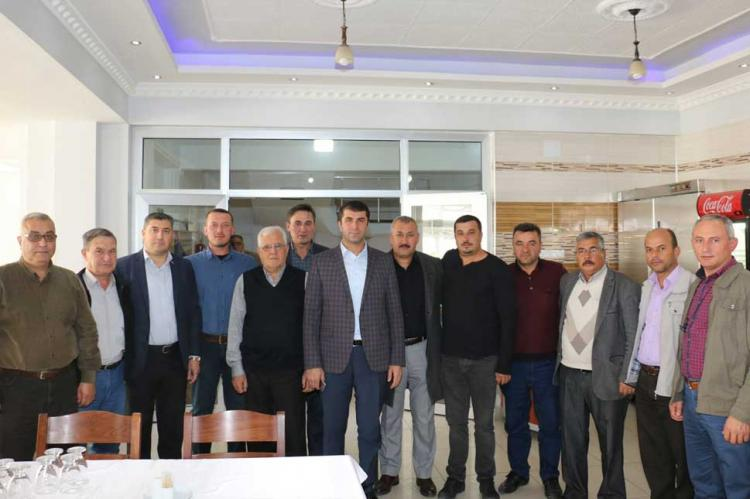 Bayramiç Belediye Başkanı Sadettin ARSLAN İlçemizdeki Sivil Toplum Kuruluşları ve Mahalle Muhtarlarımızla biraraya geldi.