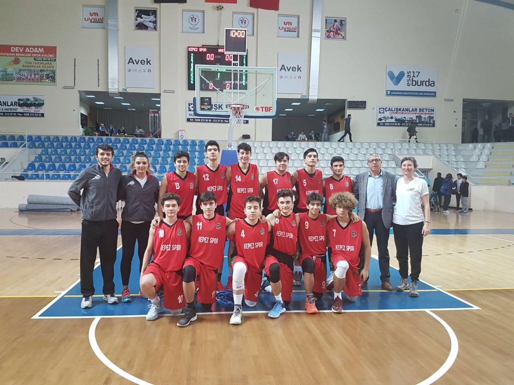 Kepez Spor Basketbol Takımı Maçlar Bitmeden Şampiyonluğunu İlan Etti