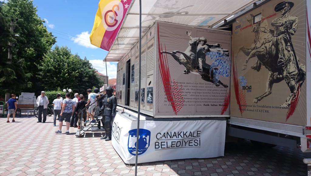 Çanakkale Destanları Müzesi Gezici Tırı Yolculuğuna Devam Ediyor