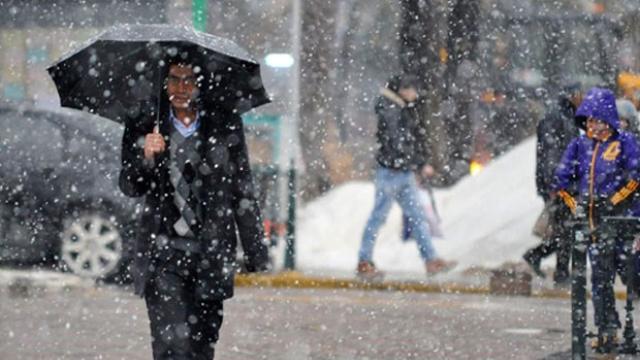 Hafif Şiddetli Yağmurlarla Birlikte Kar Geliyor