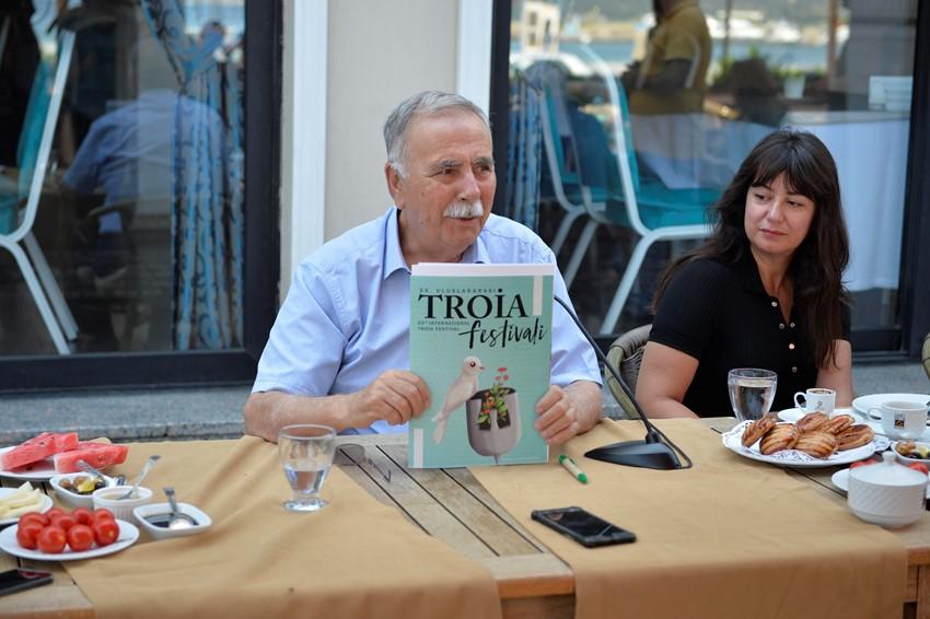 Başkan Gökhan, 55. Uluslararası Troia Festivali Programını Açıkladı