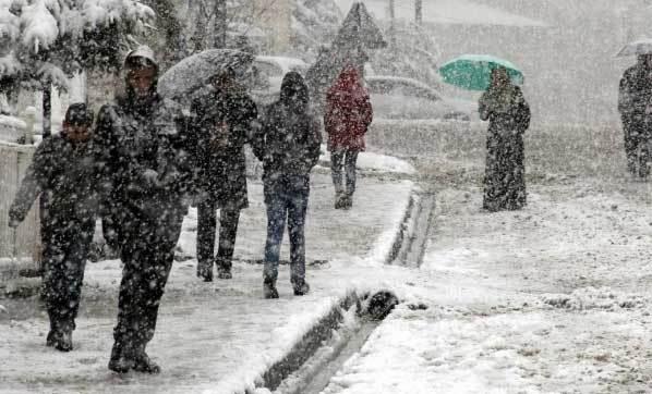 Meteoroloji'den Yoğun Kar Yağışı ve Çığ Uyarısı