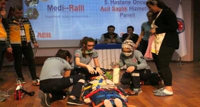 5. Hastane Öncesi Acil Sağlık Hizmetleri Paneli ve Medi-Ralli Yarışması
