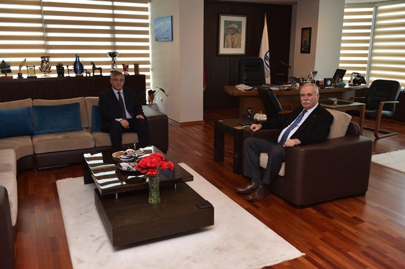 Emniyet Müdürü Celal Sel'den Başkan Gökhan'a Ziyaret