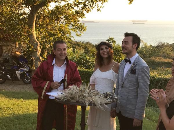 Ünlü isimler, Bozcaada'daki Düğünde Buluştu