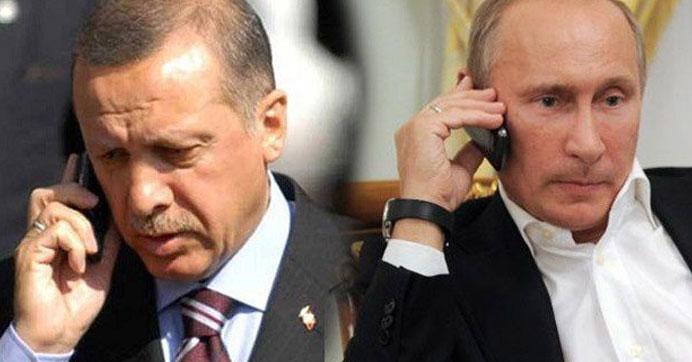 Erdoğan - Putin arasında kritik görüşme