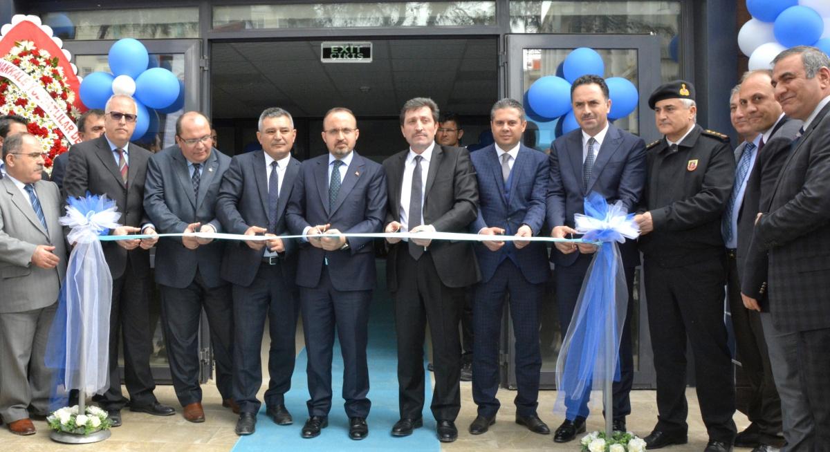ÇOMÜ Anafartalar Yerleşkesi Spor Salonu Açıldı