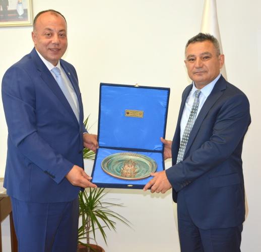 Rektör Prof. Dr. Yücel Acer, ÇTSO Yönetim Kurulu'nu Ziyaret Etti