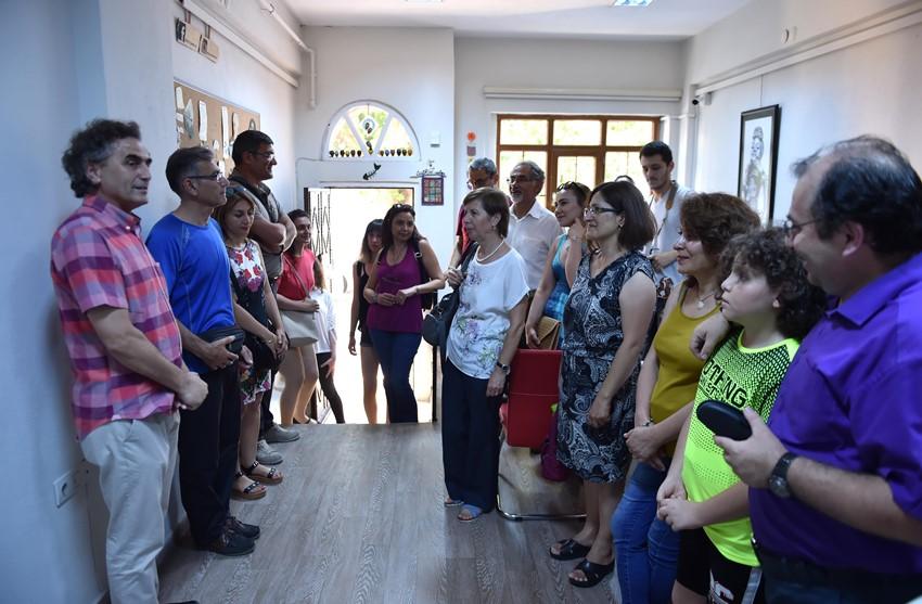 """""""Antikarikatürler"""" Yazar Sanatçı Evi'nde Sergileniyor"""