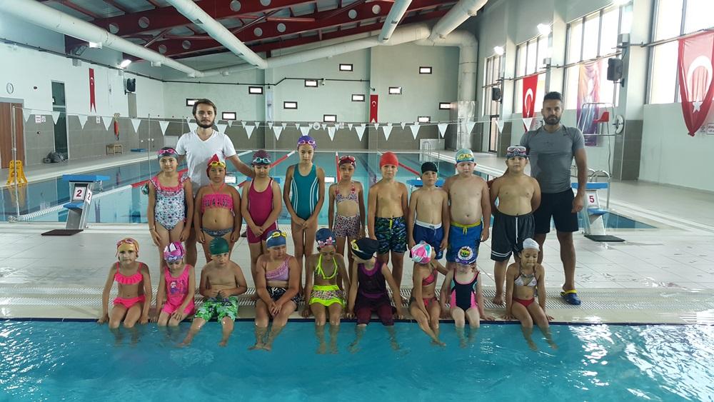 Ayvacık Belediye Başkanlığı Yüzme Kursları Başladı