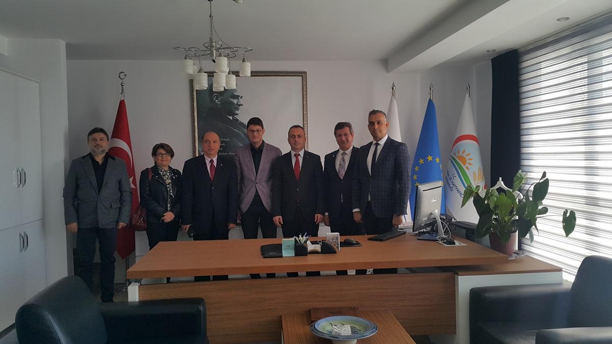 Ayvacık-Assos Yerel Eylem Grubu Derneği TKDK İl Koordinatörü Cem Akşit'i Ziyaret Etti