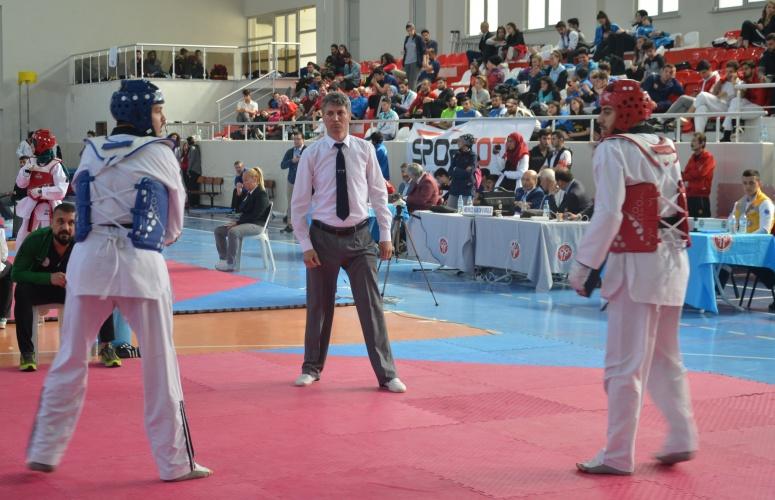ÇOMÜ, Taekwondo Şampiyonası'na Evsahipliği Yapıyor