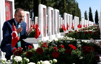 AK Parti Grup Başkanvekili Bülent Turan'ın 10 Ağustos Anafartalar Zaferi, Mesajı