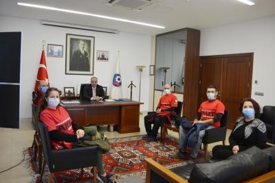 AKUT Çanakkale Temsilciliği ÇTSO Yönetimini Ziyaret Etti