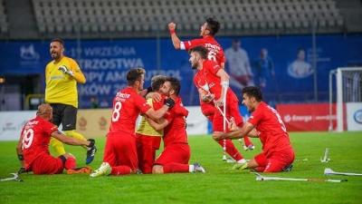 Ampute Futbol Milli Takımı Avrupa Şampiyonu