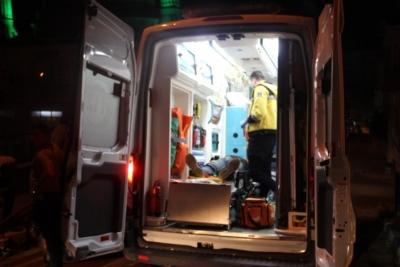 ATV Aracıyla Çelik Bariyerlere Çarptı