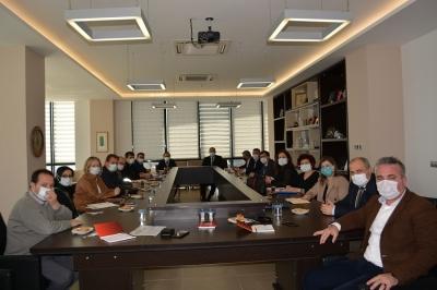 Ayvacık Jeotermal Sera OSB Toplantısı ÇTSO'da Yapıldı