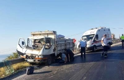 Ayvacık'ta Kaza: 3 Yaralı