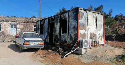 Ayvacık'ta Konteyner Evde Çıkan Yangında 1 Kişi Öldü