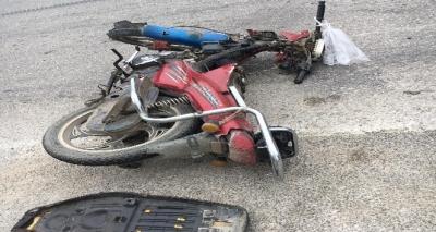 Ayvacık'ta Motorsiklet Kazası: 1 Yaralı