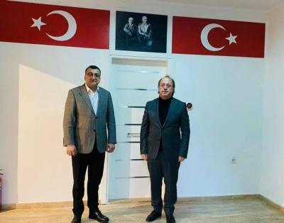 Başkan Balkan'a Sürpriz Ziyaret