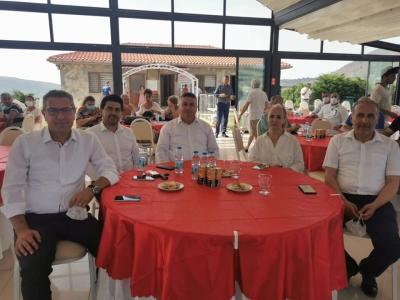 Başkan Bayram müsilaj ile mücadele toplantısına katıldı