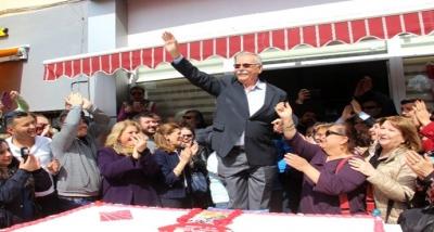 Başkan Gökhan Hem Seçimi Hem Doğum Gününü Kutladı