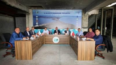 Başkan Gökhan Sinop'taydı