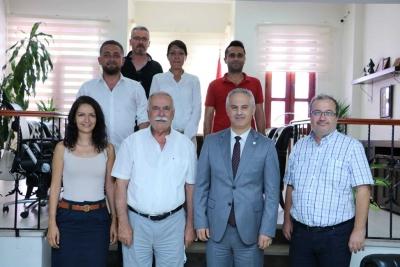 Başkan Gökhan'dan Baro Yönetimine İade-i Ziyaret