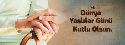 Başkan Gökhan'ın 1 Ekim Dünya Yaşlılar Günü Mesajı