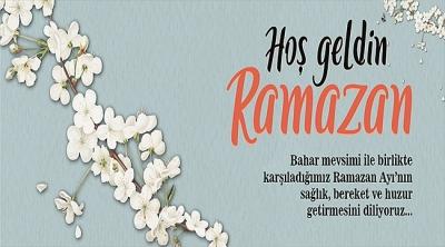 Başkan Gökhan'ın Ramazan Ayını Karşılama Mesajı