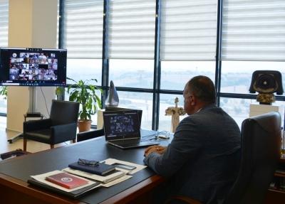 BAŞKAN SELÇUK SEMİZOĞLU MARMARA VE EGE ODA/BORSALARI TOPLANTISINA KATILDI