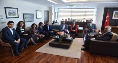 Başkan Ülgür Gökhan, Tarragona Heyetini Ağırladı