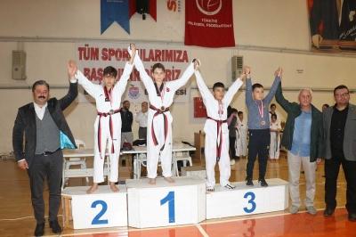 Bayramiç Taekwondo Şampiyonasına Büyük İlgi