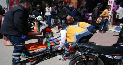 Bayramiç'te İlkokul Öğrencisine Araç Çarptı