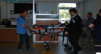 Bayramiç'te Motosiklet Kazası: 2 Yaralı