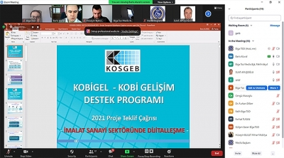 BİGA TSO ÜYELERİNE 'KOBİGEL' TANITILDI